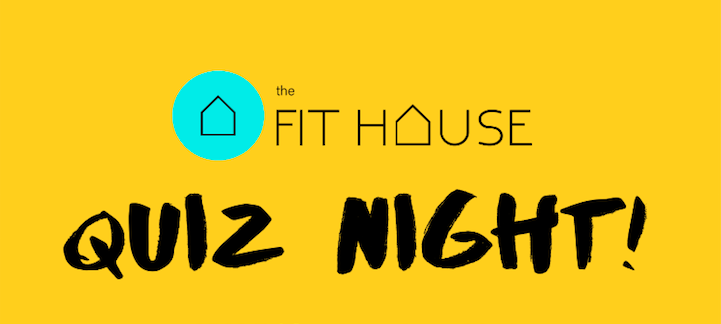Quiz night – 21st June